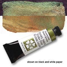 Duochrome Desert Bronze 15ml Tube, DANIEL SMITH Luminescent Watercolor