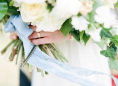 Big Love Wedding Design, Intimate Vow Renewal, wedding ring, loose bouquet
