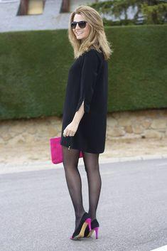 Fashion and Style Blog / Blog de Moda . Post: LBD .More pictures on/ Más fotos en : http://www.ohmylooks.com . Llevo / I was wearing : Vestido / Dress : El corte Inglés ; Zapatos y bolso / Shoes and Bag : Pilar Burgos (old)