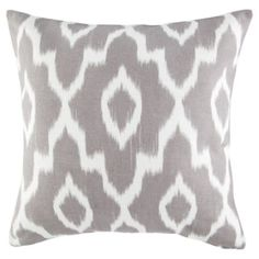 Buy Ikat Cushion Stone from our Cushions range - Tesco.com