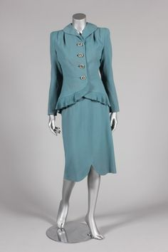 Suit, Lilli Ann, mid-1940's. ...i need this in 4 or 5 different colors