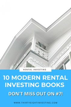 These 10 books are the best modern rental investing books! Learn about the latest real estate investing methods and discover how to start rental investing today! Real Estate Investing, Personal Finance, Budgeting, Articles, Reading, Modern, Books, Trendy Tree, Libros