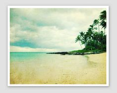 Beach Photography  seashore aqua green decor  by LupenGrainne, $30.00