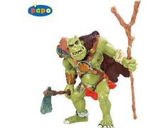 The Orc from the Papo Fantasy collection - Discounts on all Papo Toys at Wonderland Models. One of our favourite models in the Papo Fantasy figure range is the Papo Orc. Papo manufacture wonderful, amazingly accurate models of all sorts of toy figures, particularly warriors and mutants including this model of the Orc which can be complemented by any of the items in the Fantasy World and Fantasy Castle ranges.