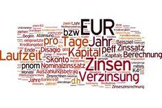 Kaufmännisches Rechnen – Zinsrechnen - Zinsrechnen! Ob Kreditvergabe oder Investitionsüberlegungen – stets begegnet man Verzinsung, Zinsen, Effektivzins und Zinseszinsen…  #Abzinsung, #Aufzinsung, #Effektivzins, #Effektivzinsberechnung, #Finanzplanung, #Kapitalanlage, #KaufmännischesRechnen, #Kredit, #Kreditvergleich, #Nominalzins, #Skonto, #UnterjährigeVerzinsung, #Zinsen, #Zinseszins, #Zinseszinsrechnung, #Zinsrechnen, #Zinsrechnung, #Zinssatz