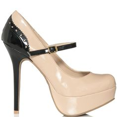 Meet your Maid of Honor and all-weather wing woman, Pippa. This charming Mary Jane pump will help disarm all those who approach you, so you can rule the day with ease. Lean on her substantial platform and skinny stiletto to keep you steady, while her glossy sheen enhances your gorgeous glow.