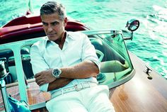 George Clooney encore. Riva toujours.