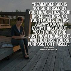 Yep - Joyce Meyer Quote.