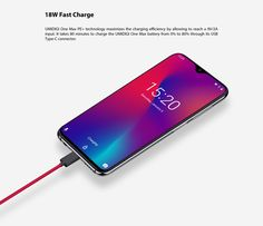 UMIDIGI One Max, not just bigger. waterdrop display, ROM and big battery capacity. Saved Passwords, Big Battery, Phone Store, Face Id, Finger Print Scanner, Display Resolution, Water Drops, Sd Card, Home