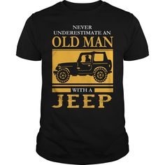 Get yours beautiful Men's Old Man With A Jeep Jeep Man T-shirt Jeep Lover T Shirt Jeep Shirts for Men Shirts & Hoodies.  #gift, #idea, #photo, #image, #hoodie, #shirt, #christmas