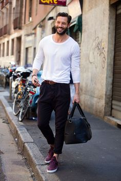 MenStyle1- Men's Style Blog - Casual Men's Style. FOLLOW : Guidomaggi Shoes...