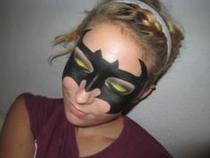 bat girl makeup