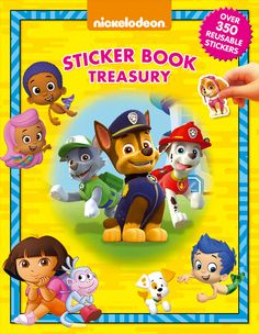 Nickelodeon Junior / Sticker Book TreasuriesGet creative with your stickers! Take a look inside and you will find over 350 reusable stickers to collect and enjoy. Use them to complete the activities, then create your very own adventures.