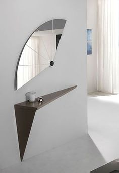 Home Decor Ideas selected 20 Luxury Wall Mirrors Designs for your Home. With these expensive mirrors, you'll get a luxury interior design without any effort. Flur Design, Beton Design, Unique Home Decor, Cheap Home Decor, Home Interior Design, Interior Decorating, Luxury Interior, Living Room Decor, Bedroom Decor