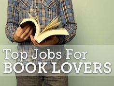 Top Jobs for Book Lovers
