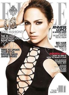 Jennifer Lopez - February 2010 Elle US cover