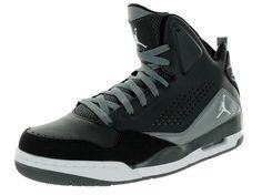 new product 3b6aa 02452 Nike Jordan Men s Jordan Anthracite White Black Cl Grey Basketball Shoe 8  Men US Jordan