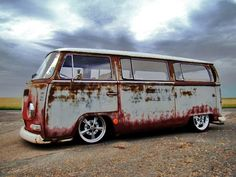 yes, rusted looks epic