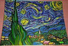 their entry to our Chameleon Starry Night contest Van Gogh Art, Chameleon, Night, Artwork, Instagram, Work Of Art, Auguste Rodin Artwork, Chameleons, Artworks