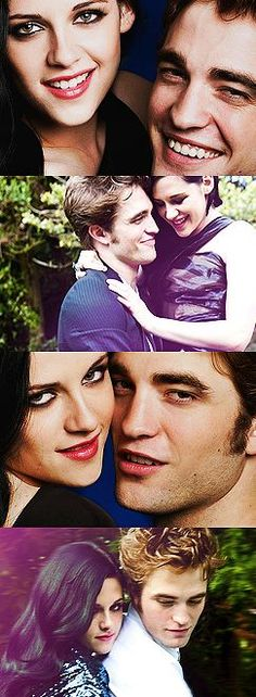 Robert Pattinson & Kristen Stewart - Because this love won't disappear in a blink of an eye ......
