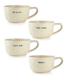 Café Au Lait Mugs