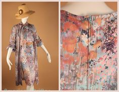 Vintage 60s Floral Bouquet Boho Dress w by AmericanDrifter on Etsy