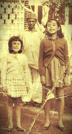 Benazir and Sanam Bhutto . Post: Engr. Hashim Siddiqui