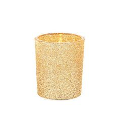 These glittering candle holders make wonderful additions to wedding supplies! Include them in your centerpieces with flickering battery-operated tea lights, or use them with real candles and bathe yo. Glitter Candle Holders, Glitter Candles, Votive Candle Holders, Votive Candles, Gold Glitter, Metallic Gold, Chai, Pink Table Decorations, Wedding Centerpieces
