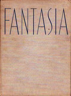 WALT DISNEY FANTASIA OVERSIZE BOOK 1940 1ST EDITION LITHOGRAPIC FULL COLOR Vintage Cartoon, Walt Disney, Animation, Books, Color, Fantasy, Fantasia Disney, Libros, Book