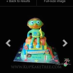 Super why cake - this would be cute for my nephews 3rd bday