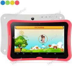 "R70PL 7\"" IPS Screen Android 4.4 RK3126 Quad-core 8GB Kid Tablet PC Children Tablet w/ WiFi OTG Miacrast ETC-375033"