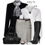 Black and White for Cooler Weather Contest