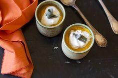 Roasted Pumpkin Soup With Parmesan Sage Whipped Cream   A Trip To Point Reyes