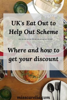 Certain UK restaurants, including popular food chains, will be offering BIG discounts for the month of August! It's all thanks to the Eat Out to Help Out Scheme. Find out what it is, how it works, and which restaurants are participating! Don't miss out!