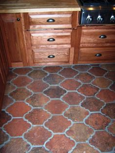Get Saltillo Tile right from the source - Rustico Tile and Stone. We ship worldwide and offer discount prices for handmade Saltillo floor tile. Terracotta Tile, Spanish Tile, Spanish Style Homes, House Tiles, Cement, Home Projects, Mexican, Antiques, Tile Flooring