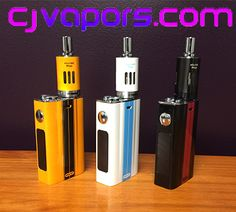 Win a #Joyetech #EVIC-VT Kit and CJVapors 30 mL Juice Pack!