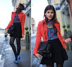 COMPLEMENTARY COLORS (by M. K.) http://lookbook.nu/look/4563709-COMPLEMENTARY-COLORS