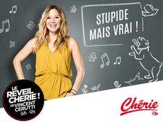 Chaque matin, du lundi au vendredi sur Chérie FM, Stéphanie Loire fait le tour…