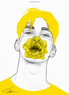 Yellow II by Tomasz-Mro.deviantart.com on @DeviantArt....I.... Don know why I love this so much❤