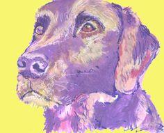 Labrador painting print Violet and Lemon Yellow lab dog gift labrador dog painting art print  ||  Labrador art print Violet and yellow lab dog gift labrador dog watercolor and acrylic painting art print. Pink and Green Labrador dog painting art print hand https://oscarjetson.com/products/labrador-painting-print-violet-and-lemon-yellow-lab-dog-gift-labrador-dog-painting-art-print?utm_campaign=crowdfire&utm_content=crowdfire&utm_medium=social&utm_source=pinterest