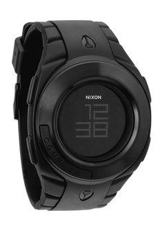 """The Outsider"" Nixon Watch. Modern digital style."