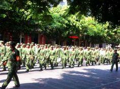 云南:越战老兵集体游行上访抗议老兵参战补贴过低| 对华援助新闻网
