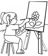 free drawing printouts for preschool, kindergarden, and first grade