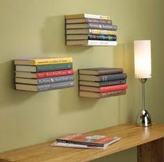 DIY College Apartment Ideas: Copperfield's shelves!