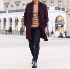 14 Amazing streetstyle looks! Black Khaki Pants, Smart Styles, Mens Fashion, Fashion Outfits, Fashion Menswear, Casual Winter Outfits, Mens Clothing Styles, Smart Casual, Men's Fashion Styles