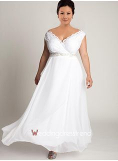 simple plus size wedding dress - plus size dresses for wedding guests Check more at http://svesty.com/simple-plus-size-wedding-dress-plus-size-dresses-for-wedding-guests/
