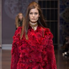 For the Delada Autumn/Winter 14/15 colorful collection, Lada Komarova was inspired by artist Chris Ofili.