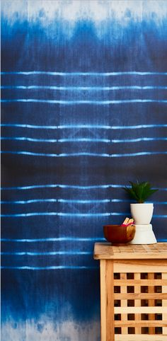 Chasing Paper's Indigo Ombre print