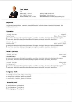 High School Student Resume Objective Examples  Sample Resume