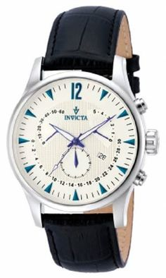 Invicta Vintage Chronograph White Dial Mens Watch 12234